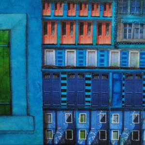 blue window 70x50